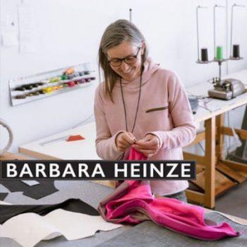 Barbara Heinze: Individuelle Anfertigung ökologischer und technisch durchdachter outdoor Bekleidung.