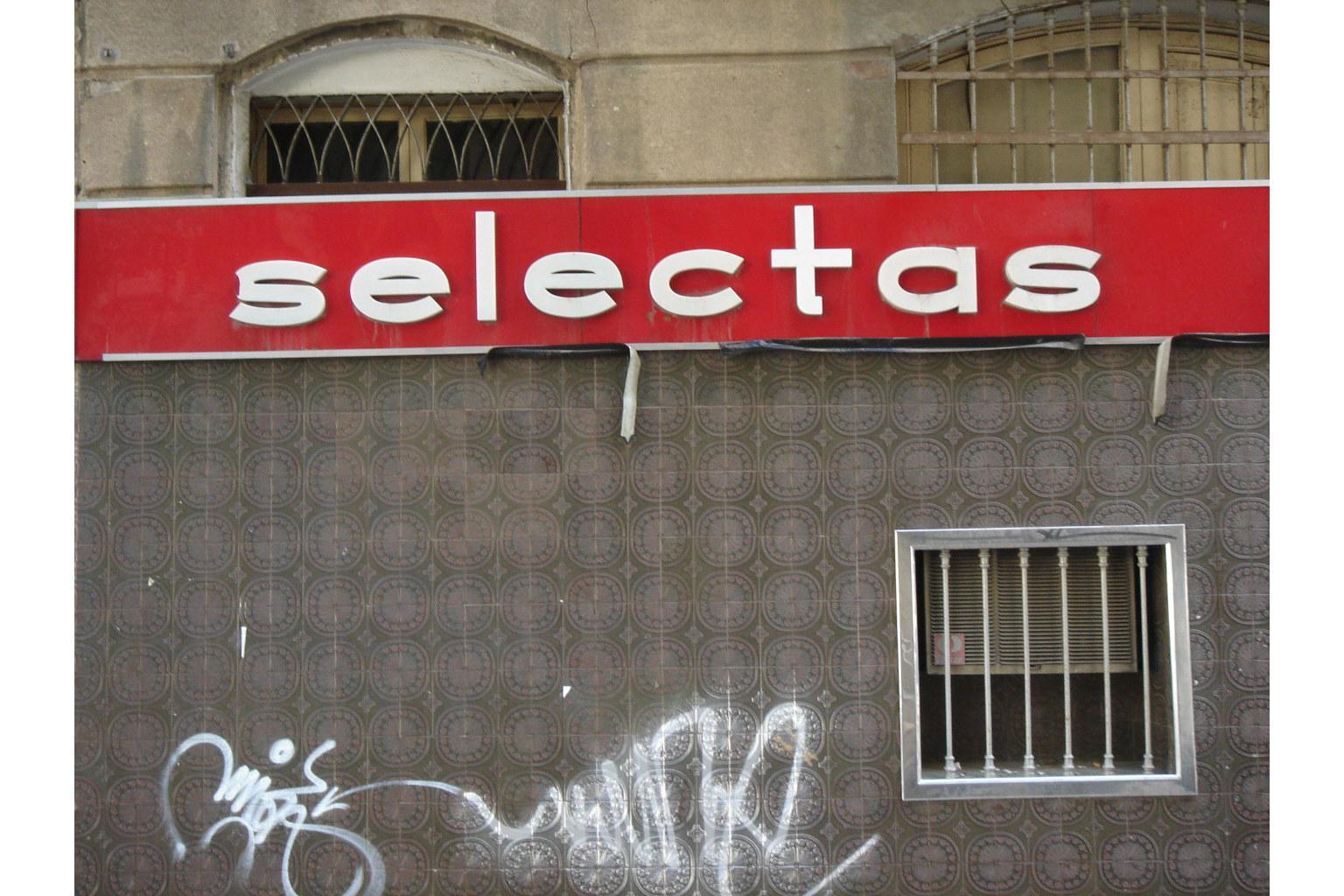 Laden - Typografie in Barcelona