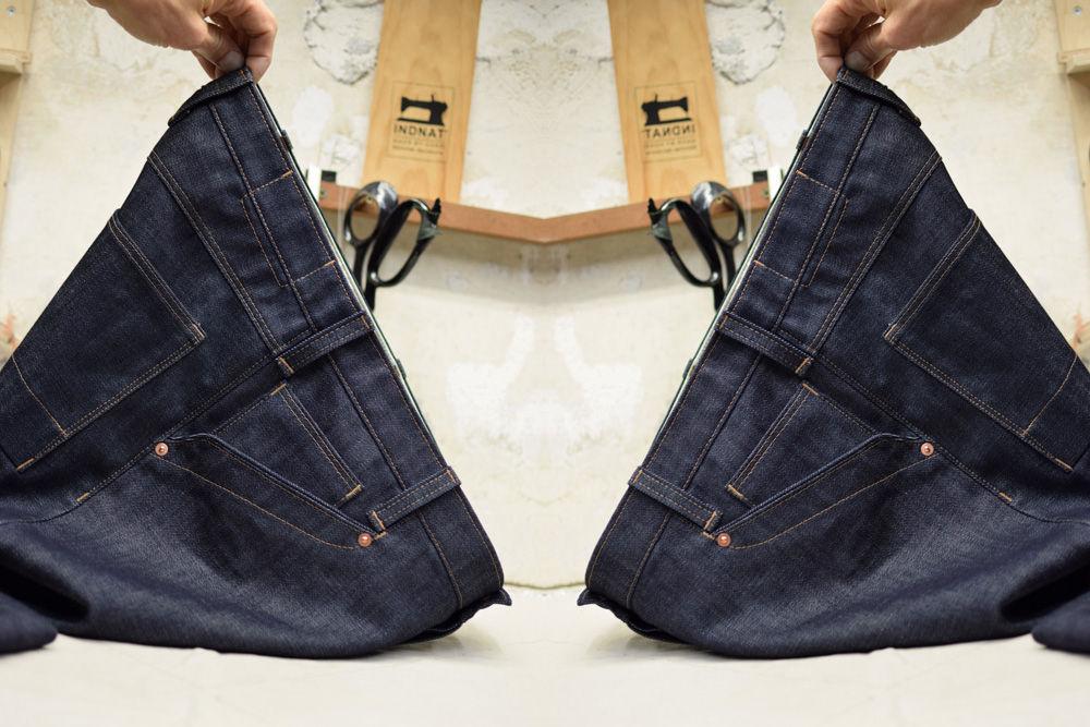INDNAT iSar Denim Jeans in Indigo Blau aus Biobaumwolle kbA.
