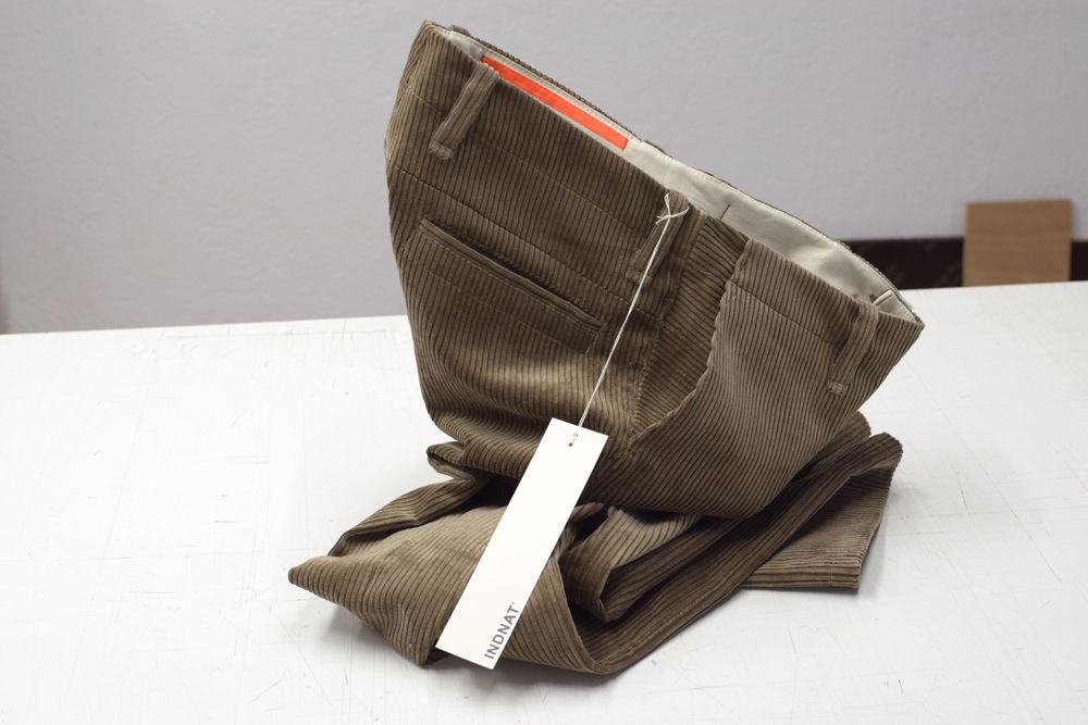 Robuste Cordhose in Trenkercord und Genuacord aus Biobaumwolle kbA, Cord-Chinohosen, Workwear, haltbar