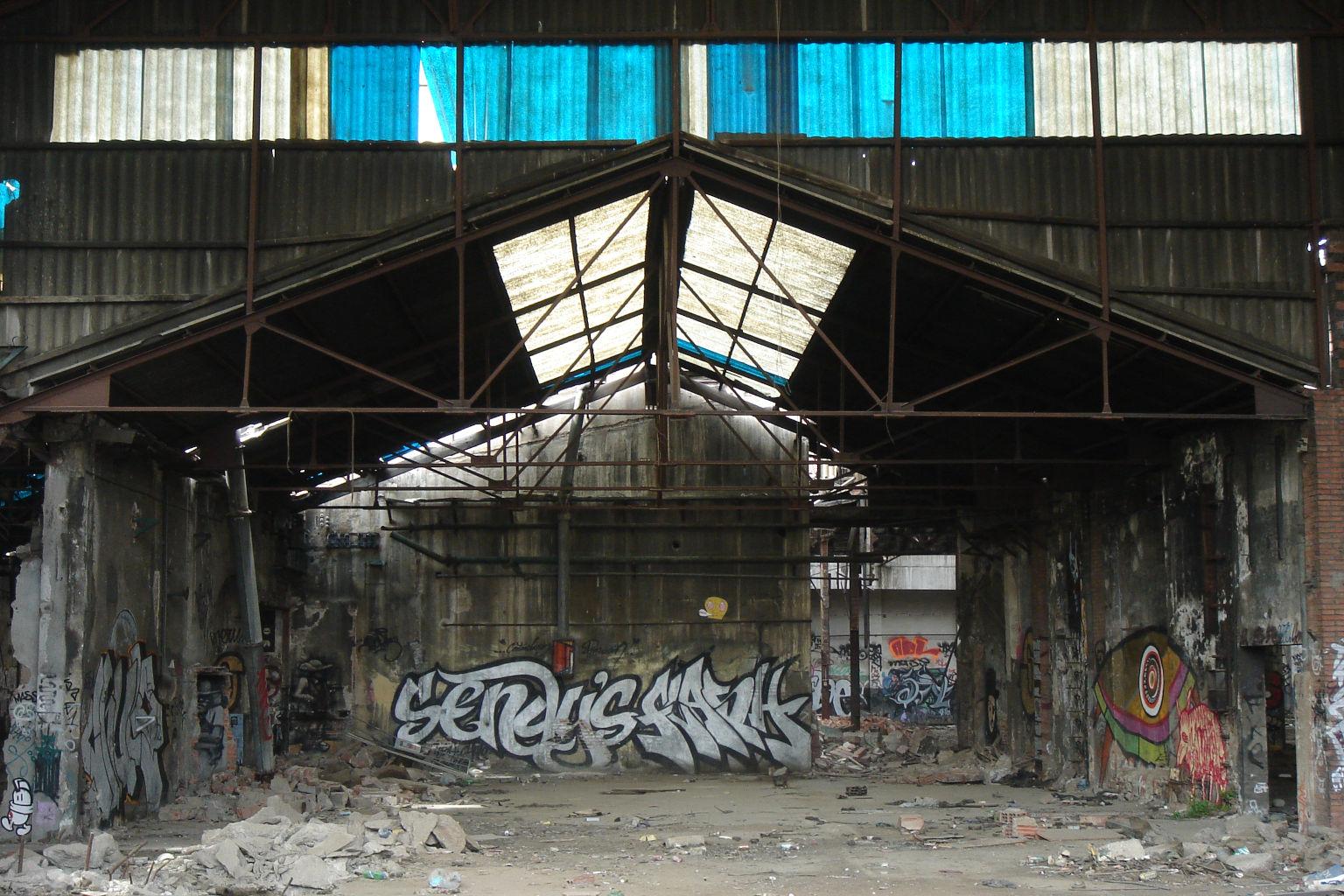Grafittis, El Barri Poble Nou, Barcelona