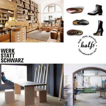 Einladung INDNAT Hosen und Halfs Schuhe und Werkstattschwarz // München // Hechendorf