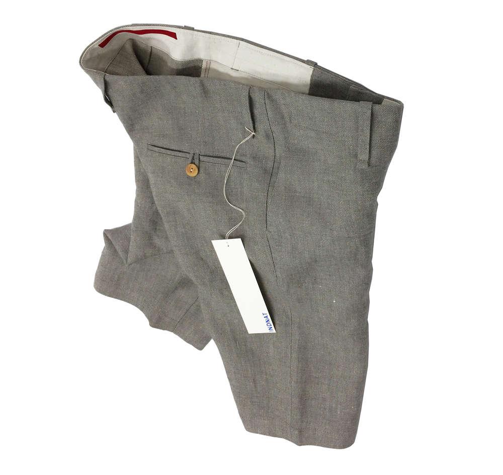 Kurze Hose / Short von INDNAT aus Hanfstoff von Vieböck im Mühlviertel