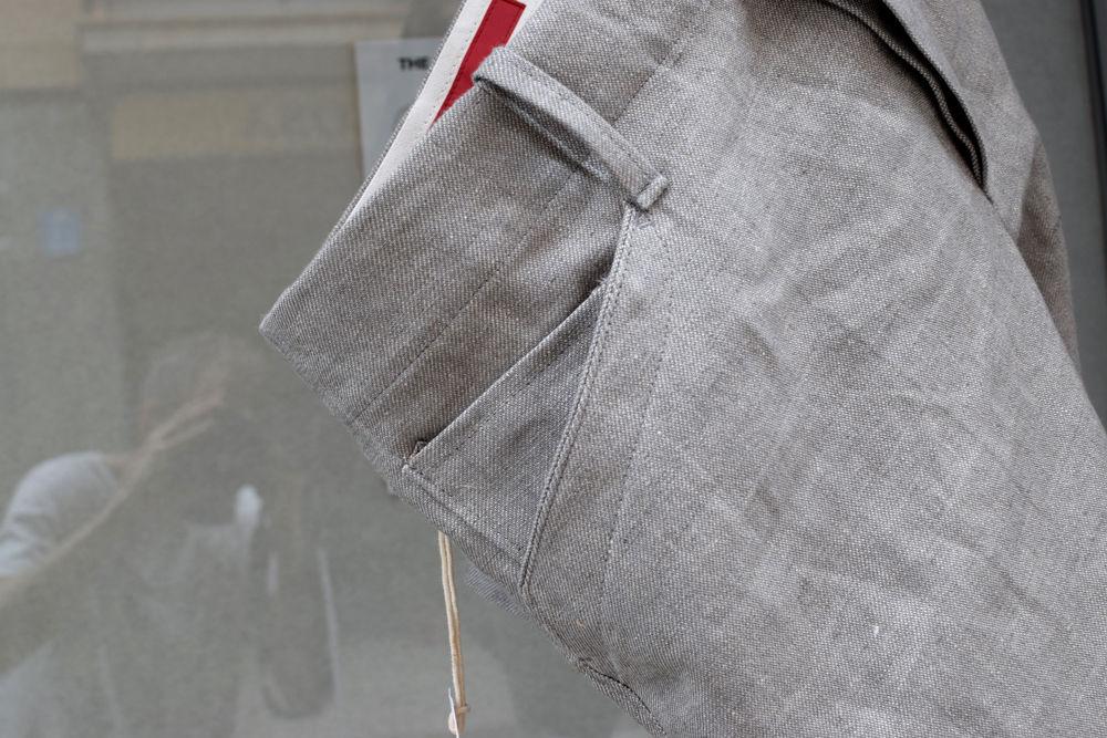 Lange Hosen aus 50% Hanf 50% Leinen
