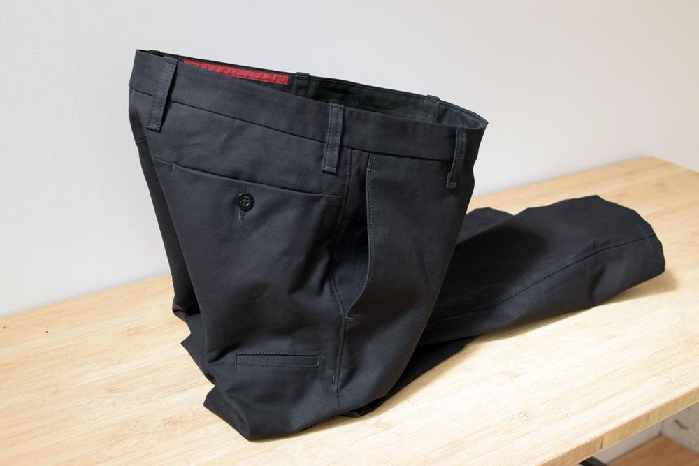 Die robuste und elegante M11 Hose in Ripsmoleskin-Hose aus Biobaumwolle von INDNAT
