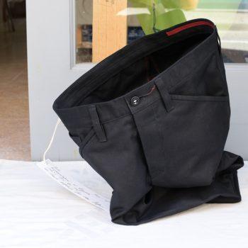 Elegante robuste Ripsmoleskin-Hose aus Biobaumwolle von INDNAT