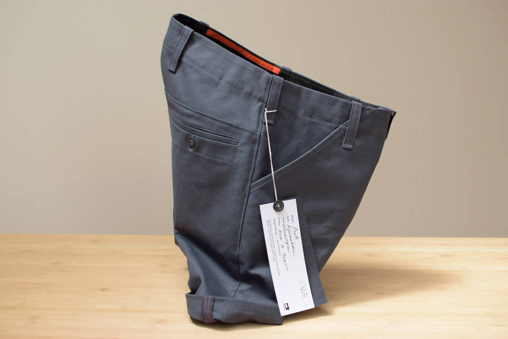 Schöne haltbare kurze Hose aus Ripsmoleskin in Biobaumwolle von INDNAT