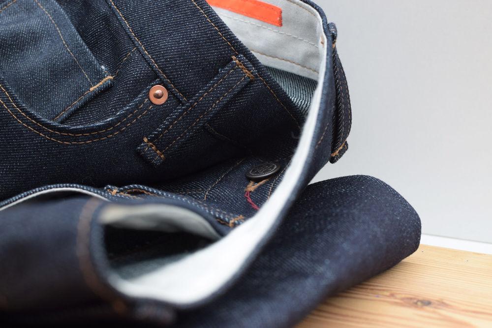 12.5 oz 5-Pocket Denim Jeans aus Biobaumwolle von INDNAT