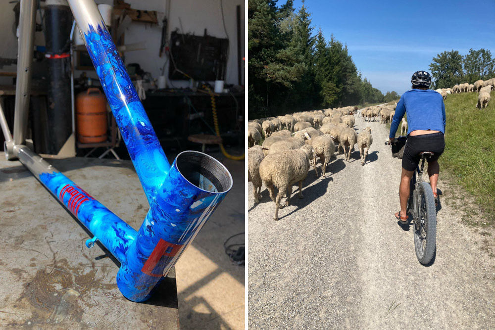 commuter hose, eine chinohose - fahrradhose aus bio-baumwolle für den alltag auf dem rad - commuting