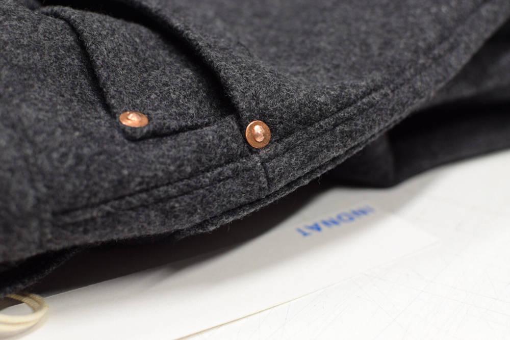 Jeans aus Loden von INDNAT, Lodenjeans, Jeans, Wolle
