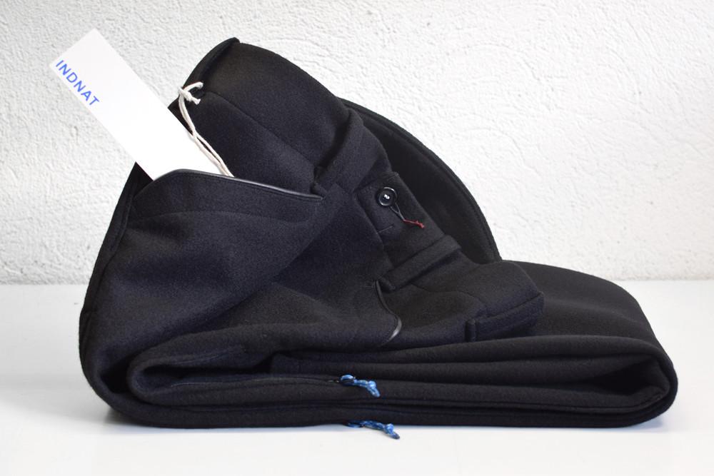 Schwarze Lodenhose, Outdoor, Lodenhosen, Belüftungs, Zipper, Reissverschlüsse, nach Mass
