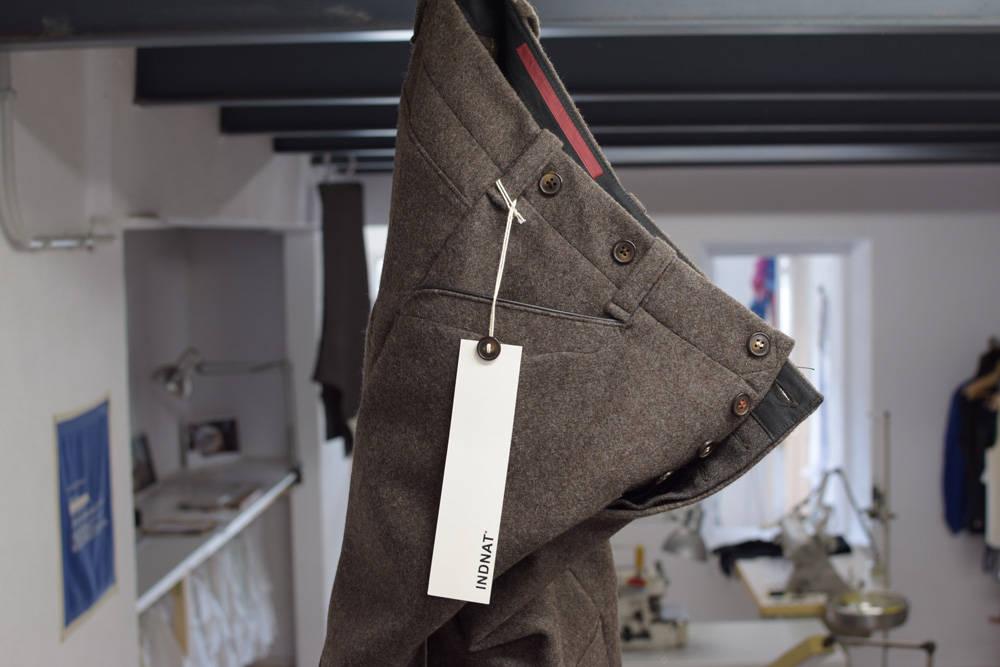 Braune Lodenhose für Jäger, Förster, Forscher und Naturliebhaber von INDNAT, warme, dicke, verstärkung, nach Maß