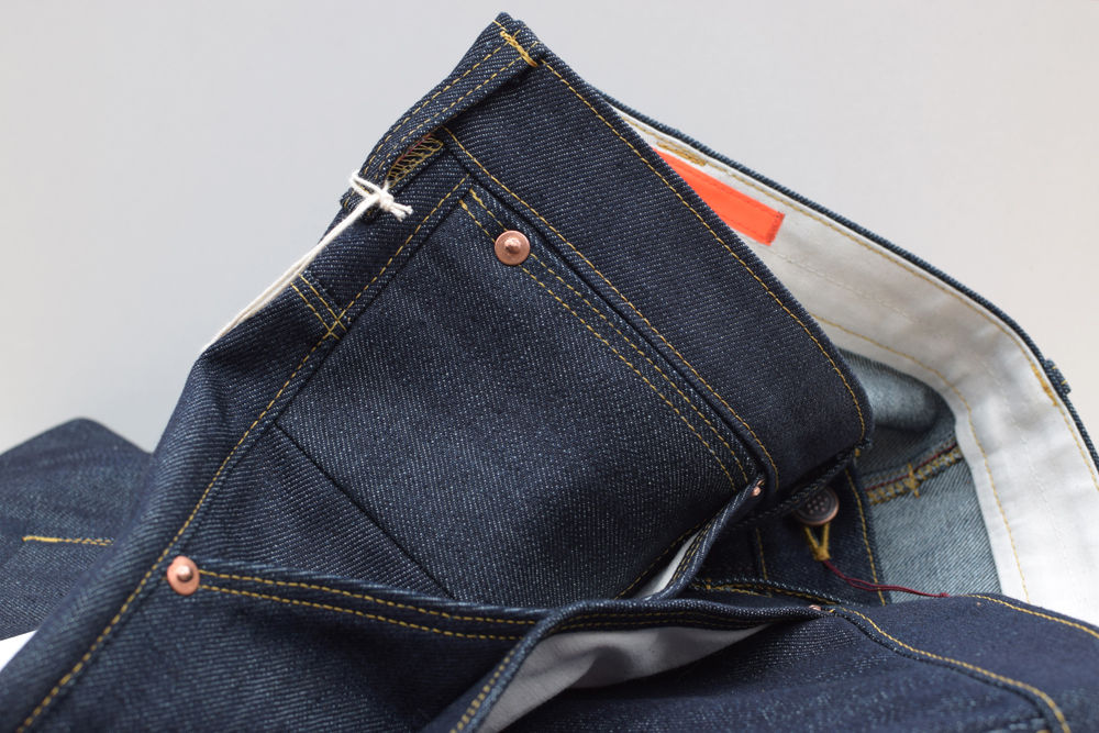 12.5 oz Worker Denim Jeans aus Biobaumwolle von INDNAT